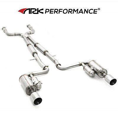 $ CDN2284.30 • Buy 2011-2013 M37 VQ37VHR ARK Performance GRiP Cat Back Exhaust With Polish Tips