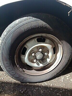 AU45 • Buy Mitsubishi Express L300 1999 1 Factory Steel Wheel And Tyre