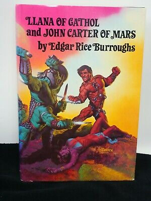 Edgar Rice Burroughs Llana Of Gathol & John Carter Of Mars BCE 1977 HB • 14.99$