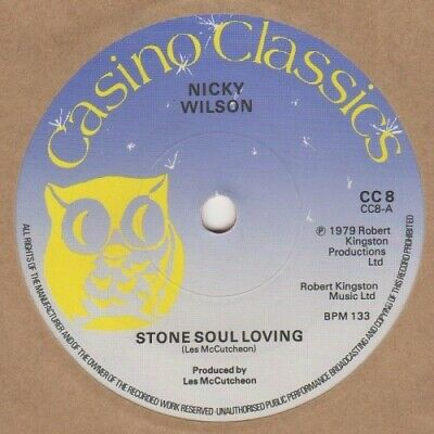 Nicky Wilson Stone Soul Loving Casino Classics CC8 Soul Northern Unplayed Stock • 9£