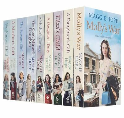 Maggie Hope 11 Books Collection Set,The Servant Girl,Workhouse Child,Molly's War • 24.99£