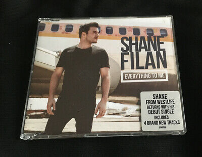 Shane Filan - Everything To Me 2013 Uk Cd Single 4 Tracks Westlife • 8£