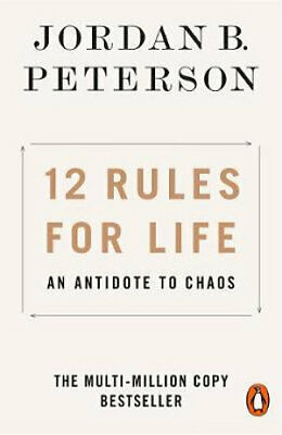 AU17.39 • Buy 12 Rules For Life By Jordan Peterson - Antidote To Chaos