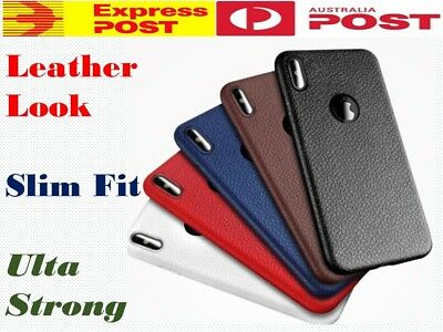 AU5.95 • Buy Leather Like Slim Case Cover For Apple IPhone 11 Pro Max XS Max X 8 Plus 7 6 OZ