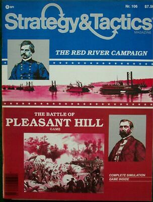 SPI Strategy & Tactics 106, UNpunched Pleasant Hill Game • 14.99$