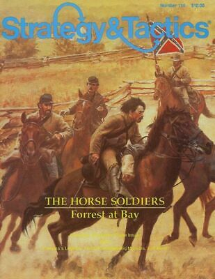SPI Strategy & Tactics 119, UNpunched Horse Soldiers Game • 14.99$