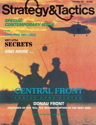 SPI Strategy & Tactics 131, UNpunched Donau Front Game • 14.99$