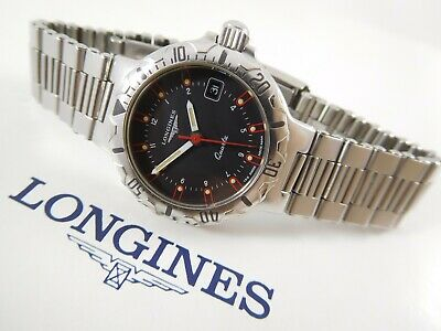 $ CDN450 • Buy LONGINES CONQUEST DIVER Ref. 4944 Cal. L152.2 Swiss Vintage Watch With Box