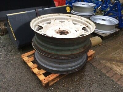 Fordson Super Major 38  Wheels And Centres  • 600£