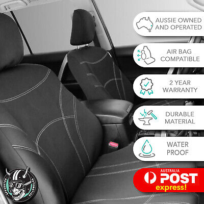 AU165 • Buy Tailor Made Ford Everest (au) 2016-on Front Car Seat Covers Water Proof Neoprene