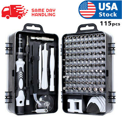 View Details Usa Magnetic Screwdriver Bit Set For Iphone/macbook Tool Kit Set 117pcs • 17.98$