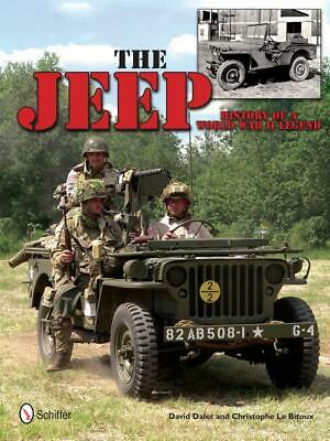 The JEEP: History Of A World War II Legend Book ~Willys~ NEW HARDCOVER!  • 29.99$