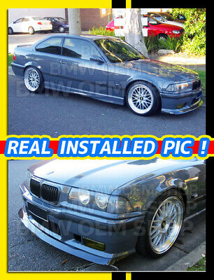 $299 • Buy GLOSSY BLACK PAINTED AC Type FRONT LIP SPOILER FOR BMW E36 M3 1995-1999
