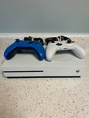 Microsoft Xbox One S 1681 W/ Two Controllers & Power Cords • 130$