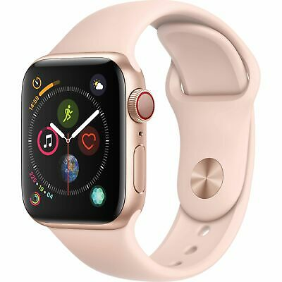 $ CDN546.06 • Buy Apple Watch Series 4 40mm GPS And Cellular Gold Case Pink Sand Band MTUJ2LL/A