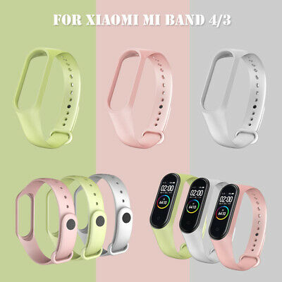 $1.45 • Buy Silicone Bracelet Strap Wristband 2020 Band Replacement For Xiaomi Mi Band 4/3