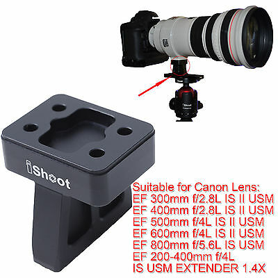 £16.99 • Buy Lens Support Collar Tripod Mount Ring Base For Canon EF 600mm F/4L IS II USM