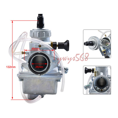 AU45.99 • Buy 26mm CARBURETOR Carb For Pit Dirt Bike Lifan YX125 YX140 YX150 YX160 Quad Molkt
