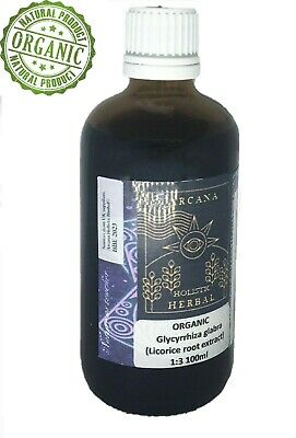 ORGANIC Licorice Root  Tincture.1:3 100ml.Dry Root Strong Extract.liquorice • 10.50£