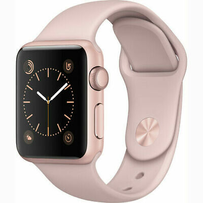 $ CDN144.57 • Buy Apple Watch Series 1 38mm Rose Gold Case - Pink Sport Band