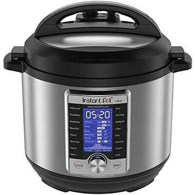 $184.33 • Buy Instant Pot Ultra 6 Qt 10-in-1 Multi- Use Programmable Pressure Cooker Slow Cook