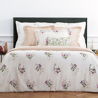 Yves Delorme | Romantic Duvet Cover Tc 300 Egyptian Cotton 60% Off Rrp • 140.04£