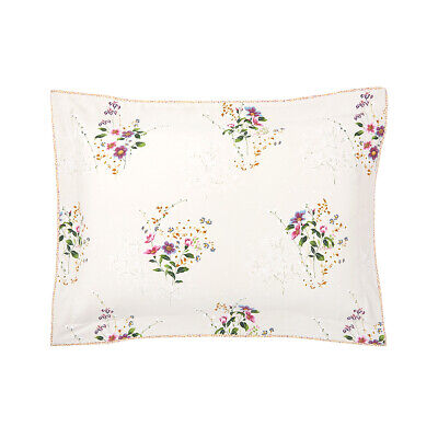 Yves Delorme | Romantic Pillowcase 300tc Egyptian Cotton 60% Off Rrp • 35.55£