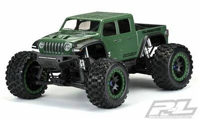 AU92.80 • Buy Proline Racing - Pre-Cut Jeep Gladiator Rubicon Clear Body, For X-MAXX