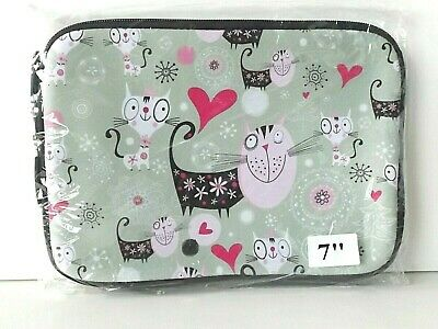 £2.75 • Buy Leapfrog LeapPad 1 2 3 - Soft Cat Design Case / Pouch For Tablet Consoles - New