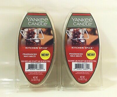 Yankee Candle_Scented Wax Melts/Cubes_Kitchen Spice_2 Pack (6 Cubes/pack)_New • 14.28£