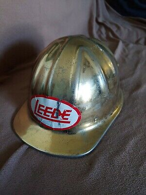Vintage Mc Donald Aluminum Hard Hat Helmet Mine Safety • 7.60$