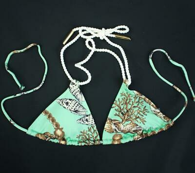 $ CDN36.46 • Buy Victoria's Secret VS Rope Tie Beach Seashell Triangle String Swim Top