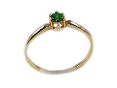 AU2267.83 • Buy Alexandrite Gold Ring ¼ct Antique 19thC Russia Natural Color-Change Genuine 14kt