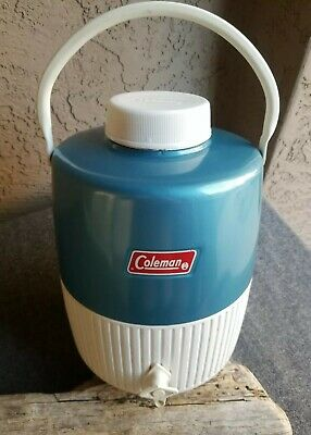 $30.99 • Buy Vintage COLEMAN WATER JUG 3 Gal? 1970's Camp Picnic BLUE USA WICHITA Snow-Lite