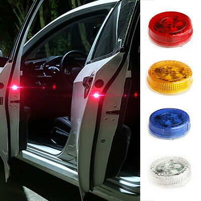 2PCS LED Car Door Opening Warning Light Safety Flash Signal Lamp Anti-Collision • 3.15£