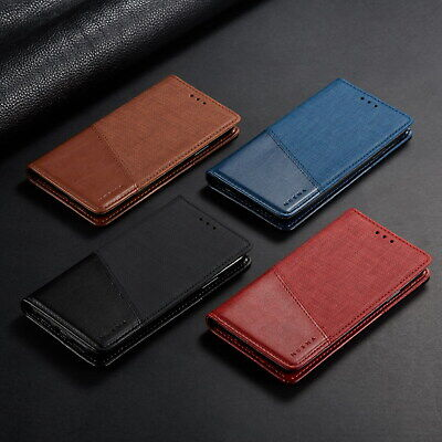 AU1.05 • Buy Classic Flip Magnetic PU Leather Wallet Stand Case Lot Cover Protection Bumper 2