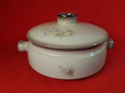 Vintage 1970s : Denby - MEMORIES : Large 5 Pint Casserole Dish With Lid • 10.99£