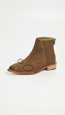 £32.91 • Buy Free People Womens Century Flat Boots Zipper Brown Size US 7