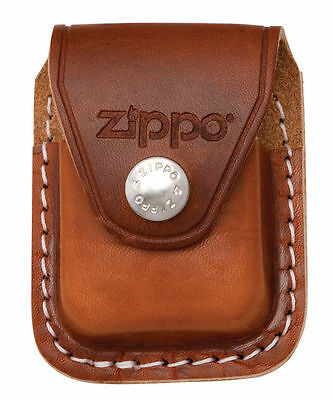 $6.83 • Buy Zippo LPCB, Brown Leather Lighter Pouch With Clip