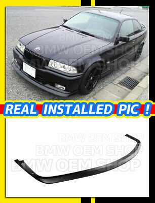 $199 • Buy MATTE BLACK PAINTED AC Type FRONT LIP SPOILER FOR BMW E36 M3 1995-1999