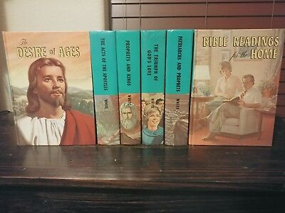 $79 • Buy 6 Vintage E.G White Hardcover Book Set Desire Of Ages Prophets & Kings Apostles
