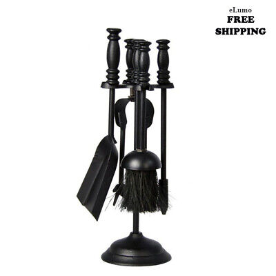 £22.10 • Buy 5pc Fire Companion Set Fireside Fireplace Tools Home Gift Present Unique New Uk