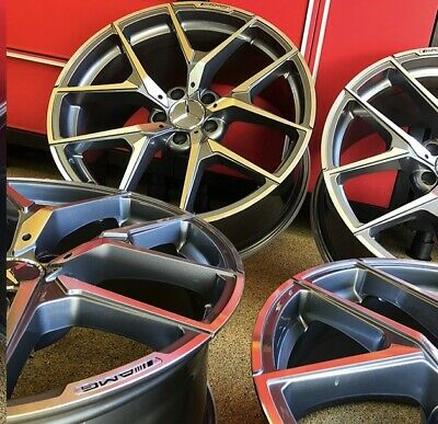 $995 • Buy 19 Inch Mercedes S63 Rims Wheels Set4 New S550 S450 S400 S500 S430 S Class Amg