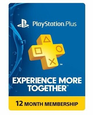 $ CDN46.23 • Buy Sony PlayStation PS Plus 12-Month / 1 Year Membership Subscription