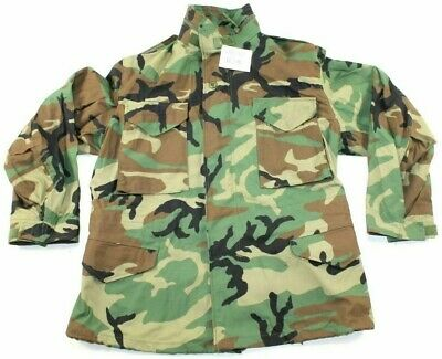 $24.99 • Buy NEW M65 Field Jacket Golden MFG. Small Long M81 Woodland Camo Cold Weather BDU