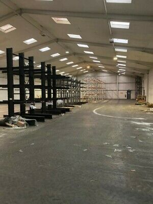 £6500 • Buy Double Sided Cantilever Racking For Sale Height 4m With 3 Levels
