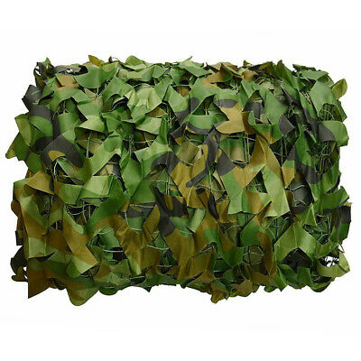 $19.99 • Buy 13x6.5FT Camouflage Camo Army Green Net Netting Military Hunting Woodland Leaves