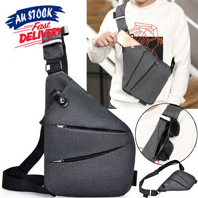 AU16.96 • Buy Bag Pocket NEW Waterproof Shoulder Anti-Theft Personal ON