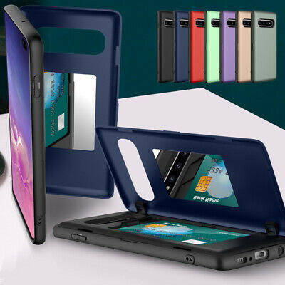 $ CDN6.29 • Buy For Samsung Note 10 Plus 9 S10 S9 S8 Wallet Credit Card Holder Hybrid Case Cover