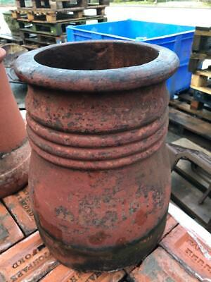 £75 • Buy Red Clay Vintage Victorian Cannon Chimney Pot